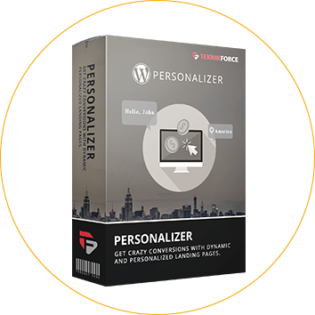 WP Personalizer